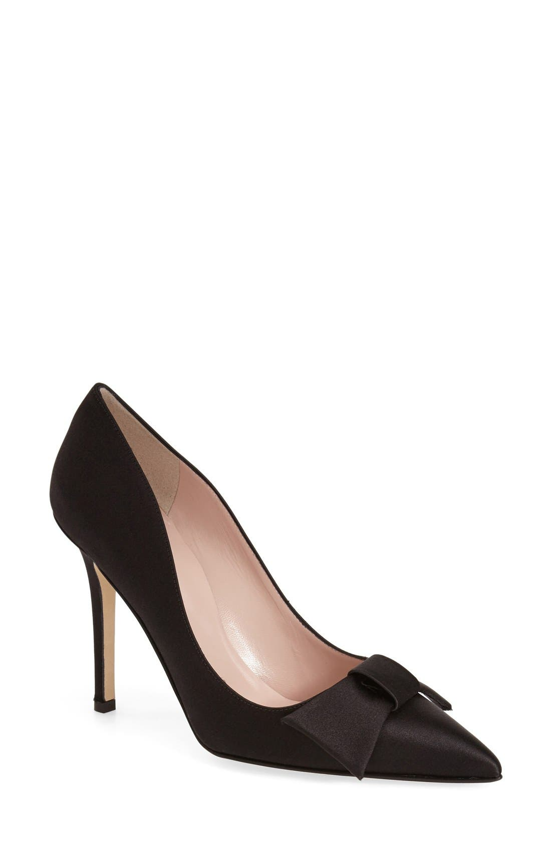 'layla' pointy toe pump, Main, color, 001