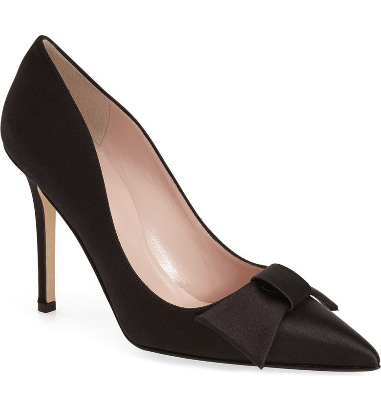 KATE SPADE NEW YORK 'layla' pointy toe pump, Main, color, 001