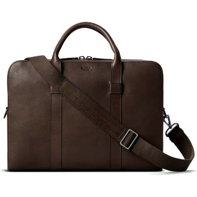 Shinola Guardian Leather Briefcase -