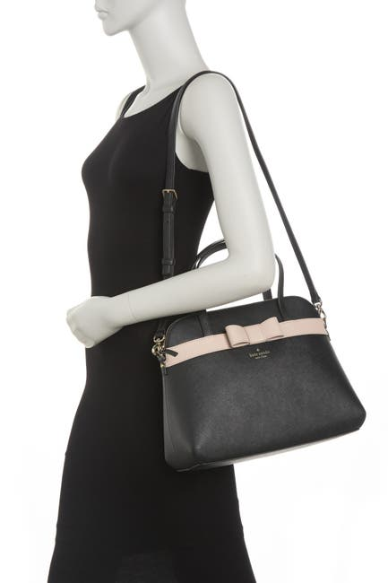 Image of kate spade new york julita saffiano leather satchel