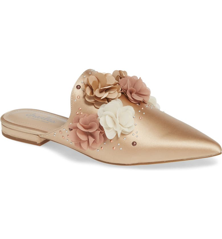 CHARLES BY CHARLES DAVID Wesley Mule, Main, color, NUDE SATIN