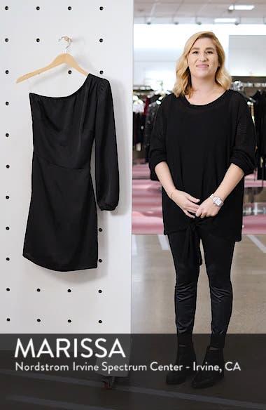 One-Shoulder Satin Dress, sales video thumbnail