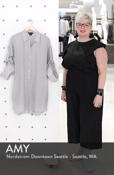 Stripe Cotton & Silk Shirtdress, sales video thumbnail