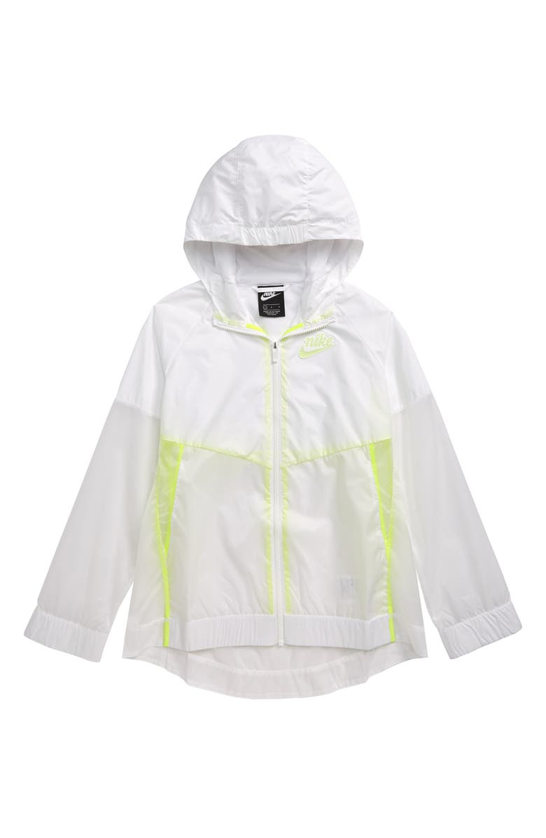 NIKE Windrunner Hooded Zip Jacket, Main, color, 100