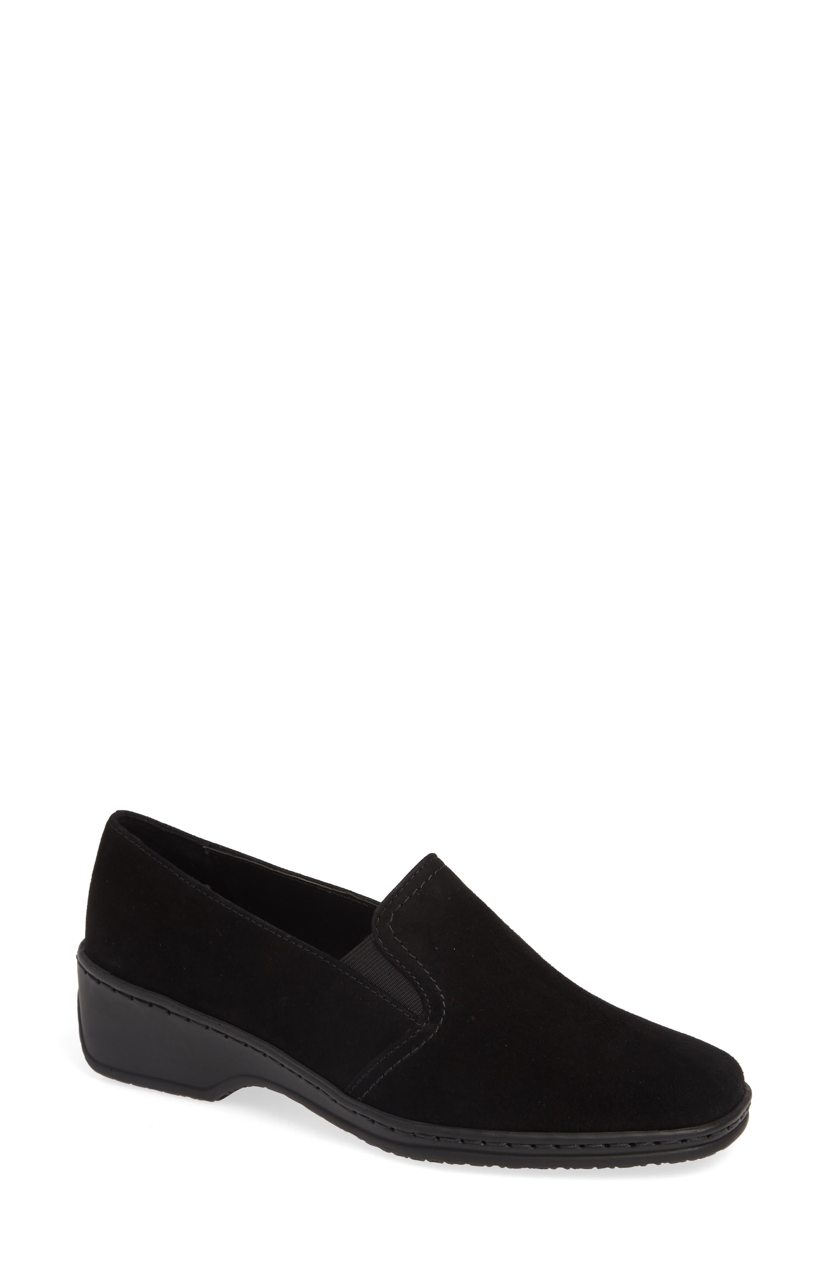 Ara Rabina Wedge Loafer- Black
