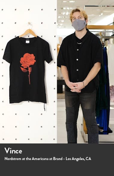 Chrome Rose Graphic Tee, sales video thumbnail