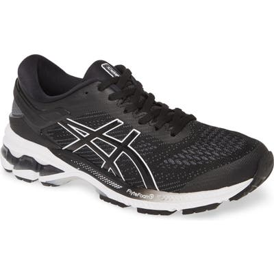 Asics Gel-Kayano 26 Running Shoe, Black