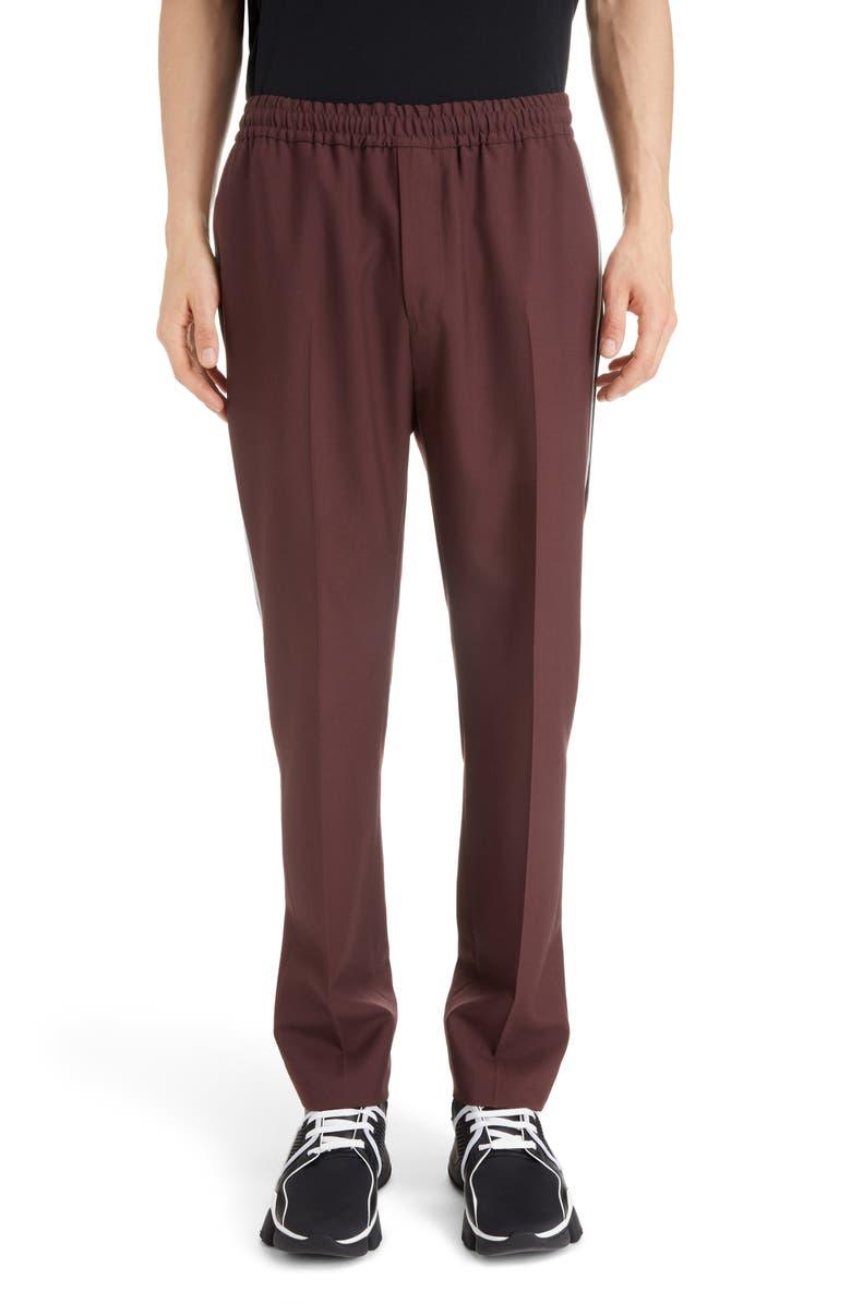 GIVENCHY Wool Twill Pants, Main, color, 605