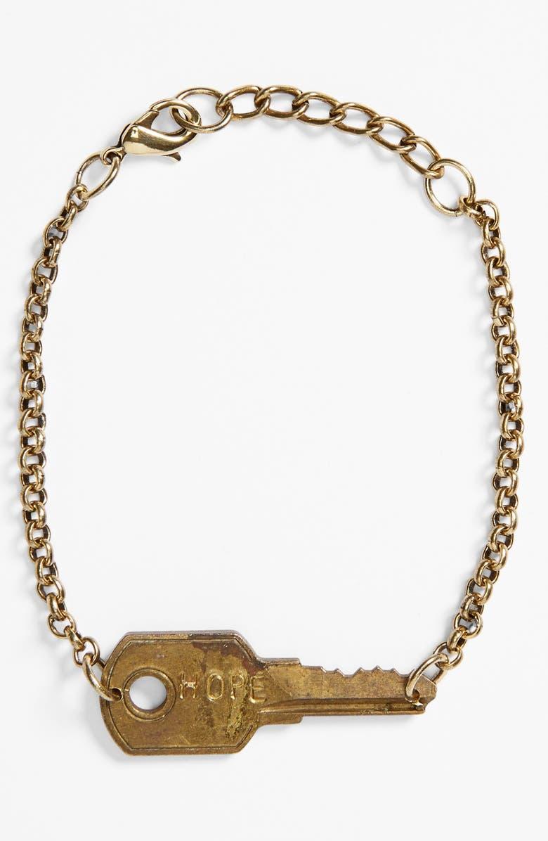 Giving Keys Never Ending Key Bracelet