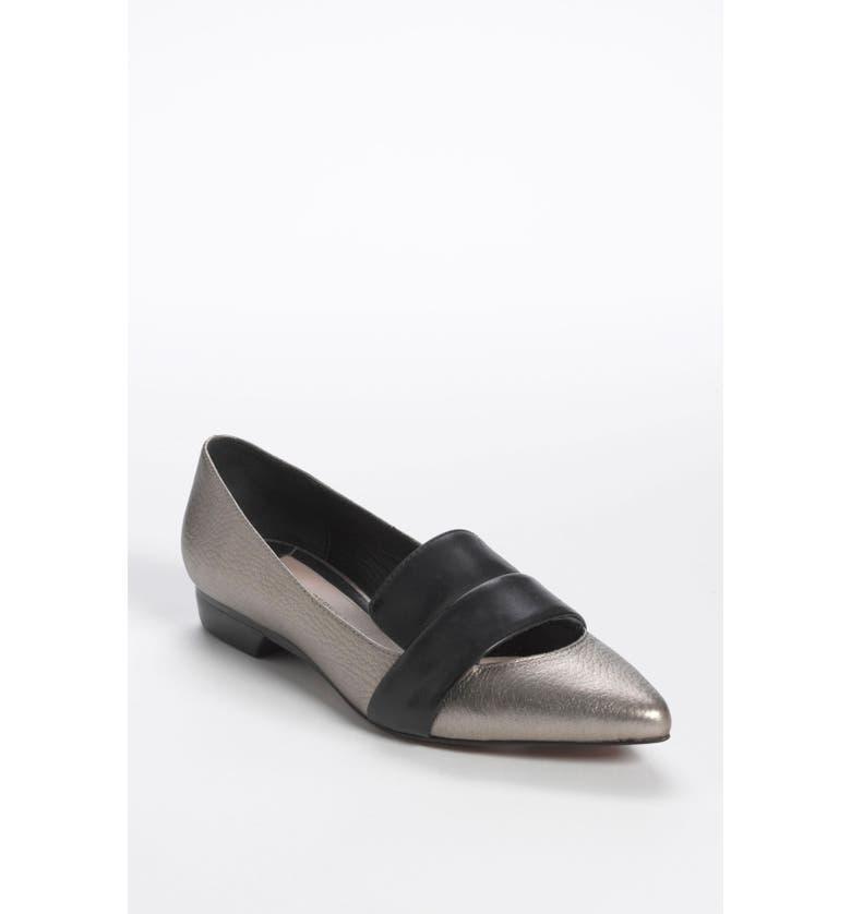 DEREK LAM 10 CROSBY 'Audrey' Loafer Flat, Main, color, 049