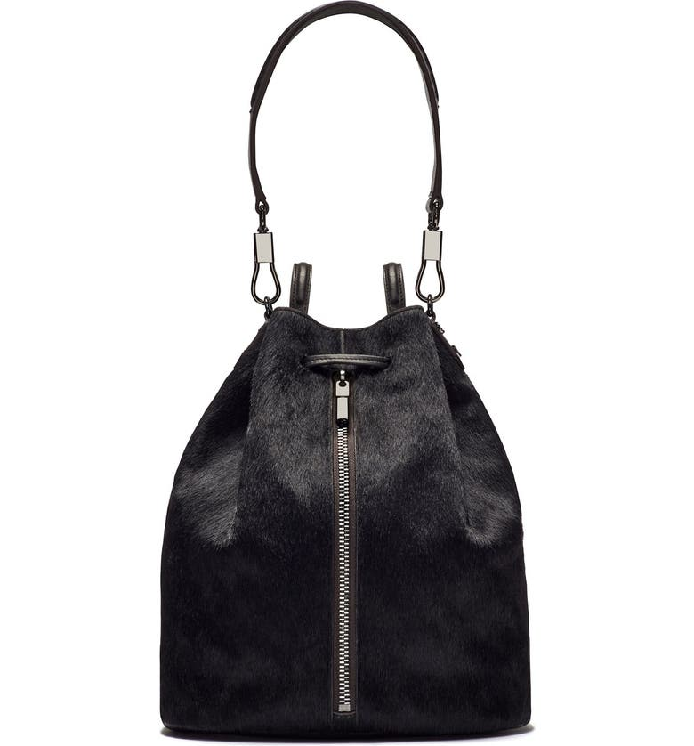 'cynnie' Genuine Calf Hair Sling Backpack by Elizabeth And James