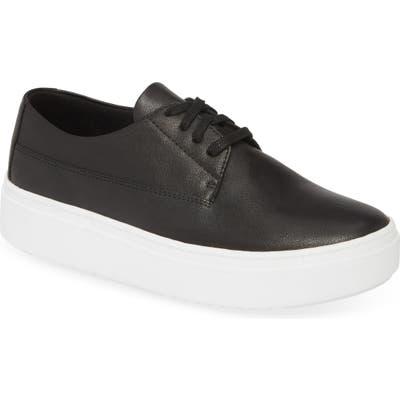 Eileen Fisher Prop Platform Sneaker, Black