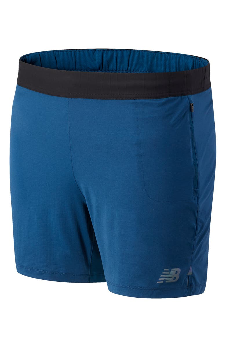 NEW BALANCE Q Speed Fuel Men's Running Shorts, Main, color, ROGUE WAVE