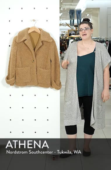 So Soft Teddy Coat, sales video thumbnail