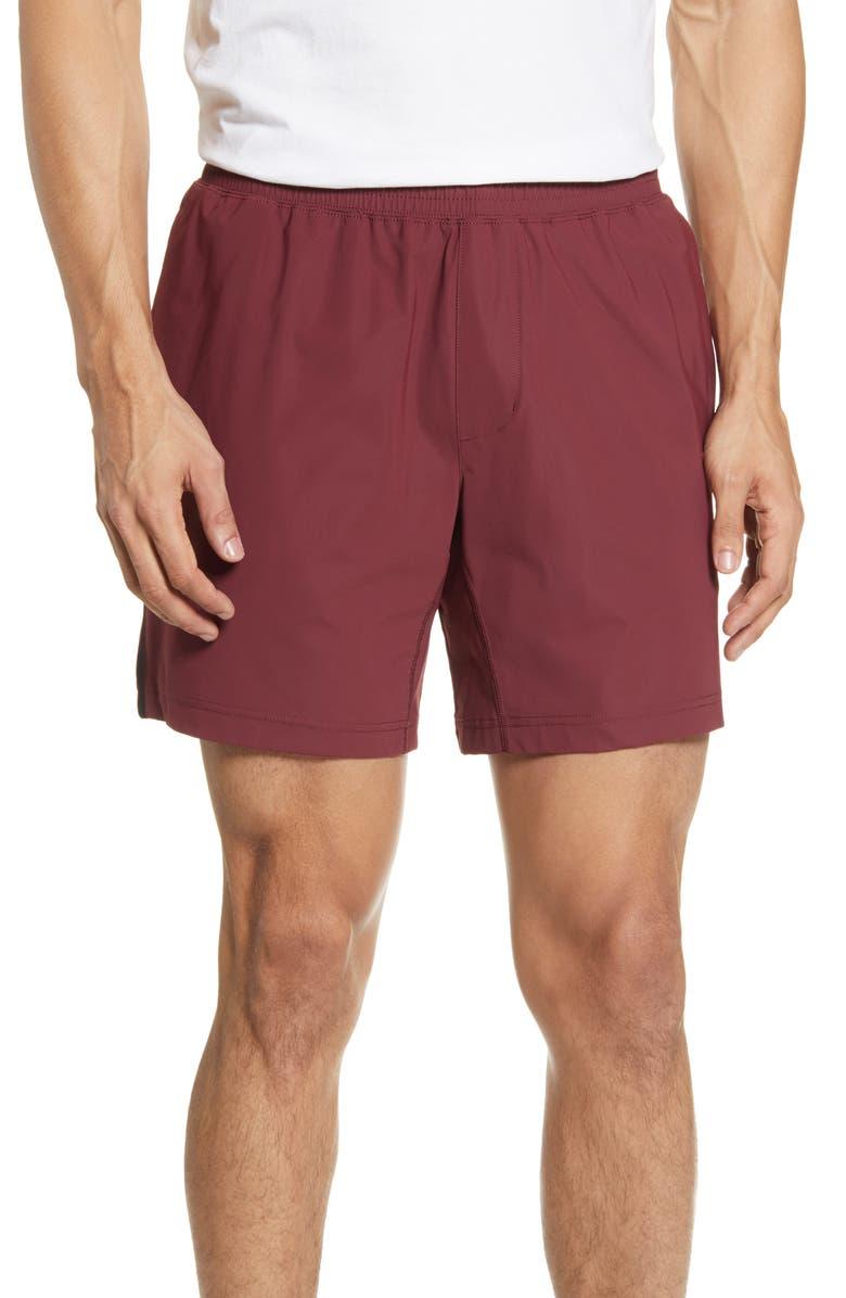 RHONE Versatility Performance Athletic Shorts, Main, color, ANDORRA