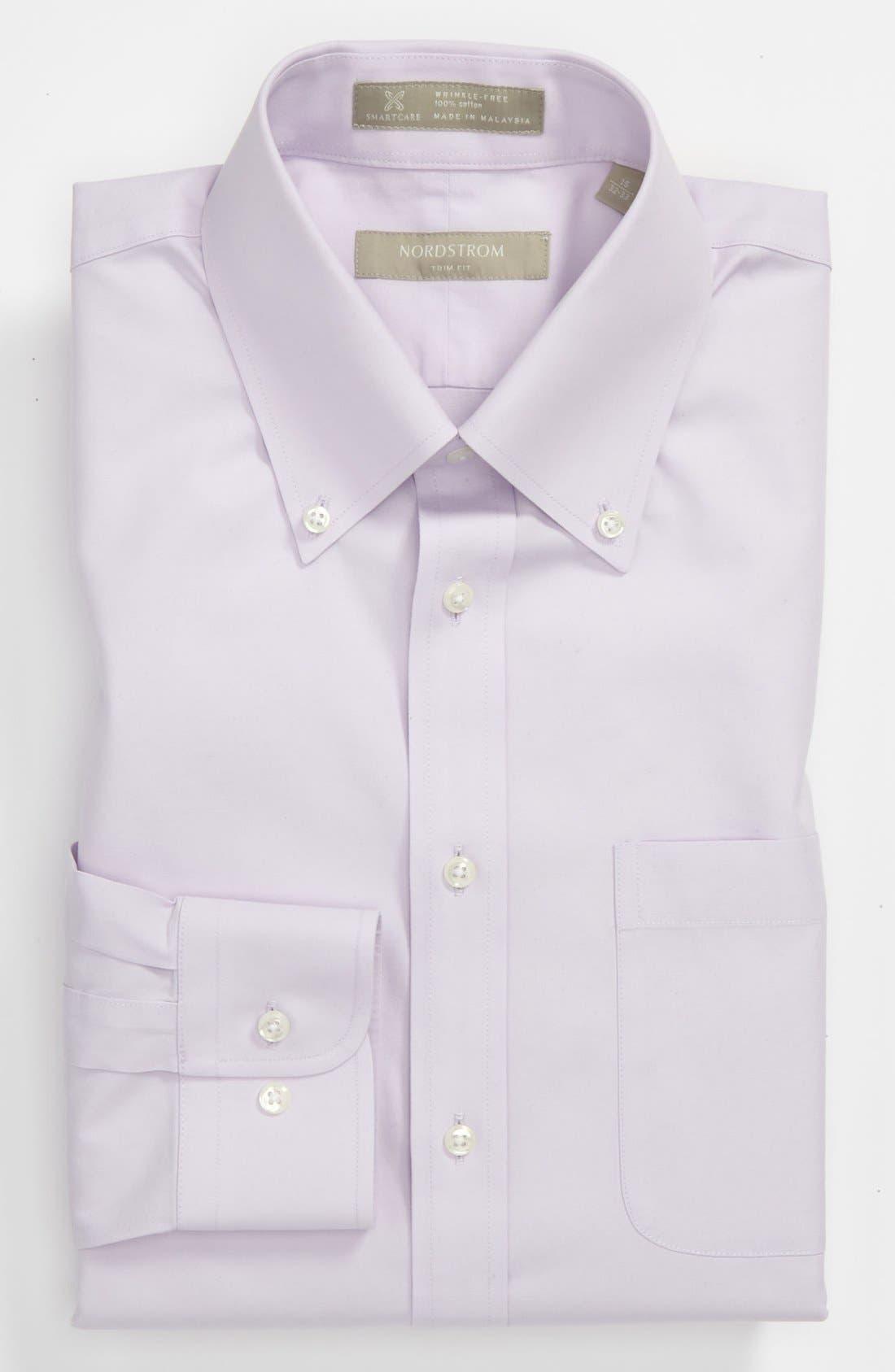 ,                             Smartcare<sup>™</sup> Trim Fit Solid Dress Shirt,                             Main thumbnail 29, color,                             530