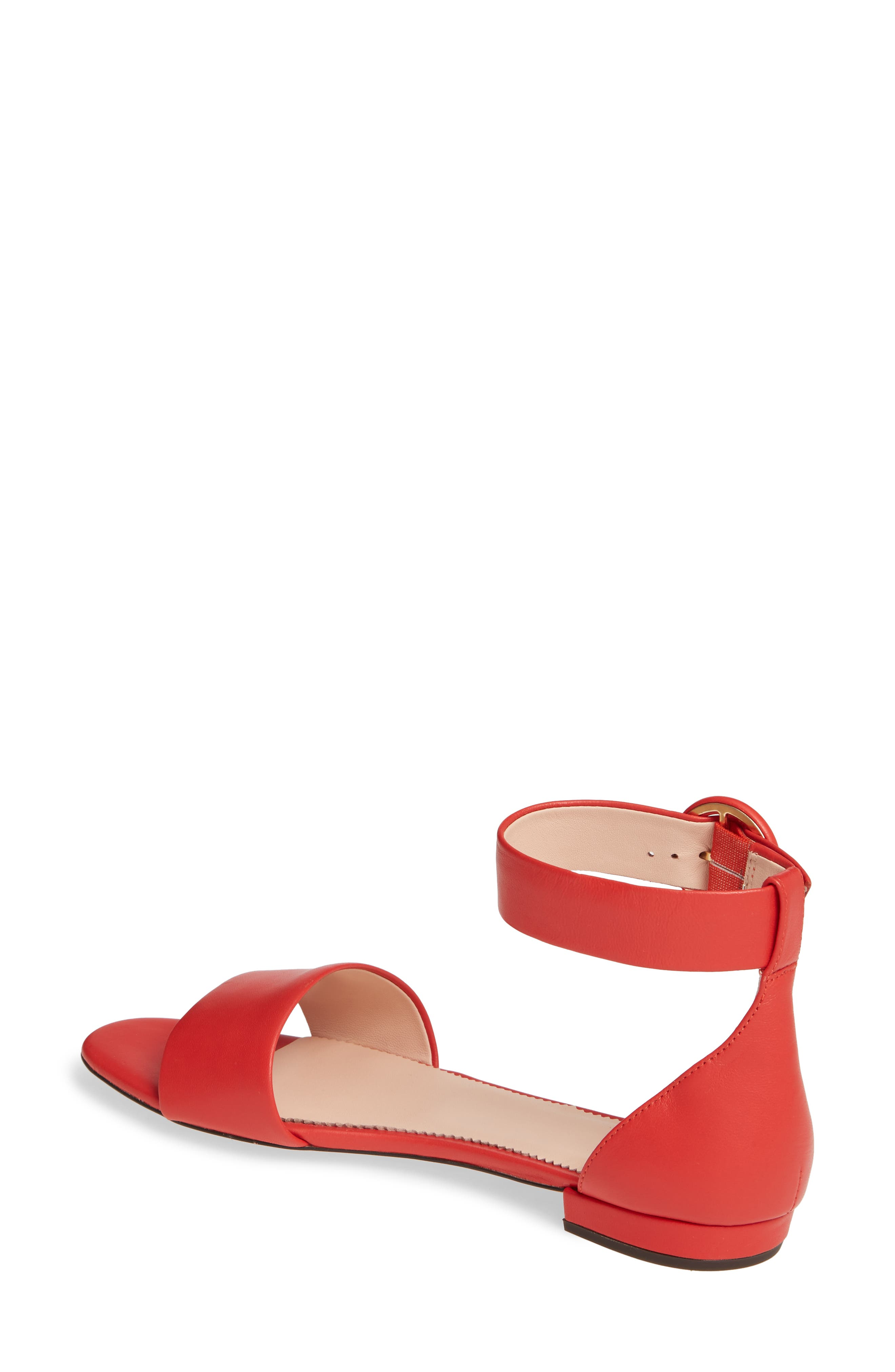 ,                             Ankle Strap Flat Sandal,                             Alternate thumbnail 8, color,                             600