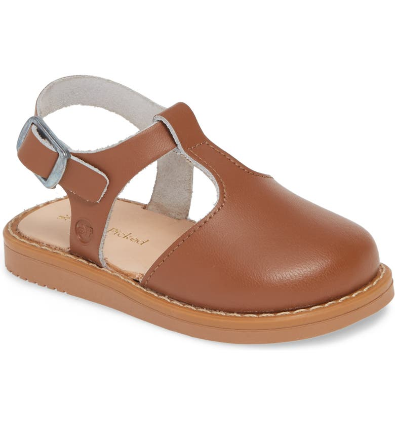 FRESHLY PICKED Newport Clog Sandal, Main, color, COGNAC