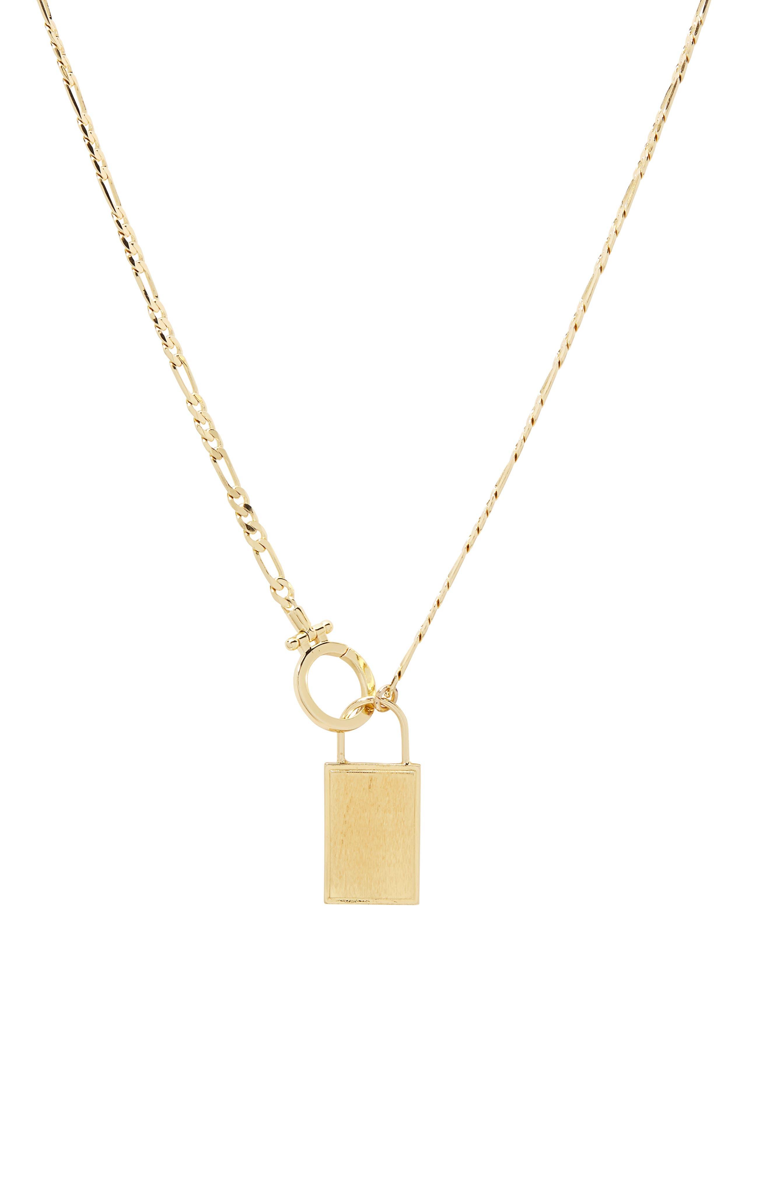 Charlie Pendant Necklace