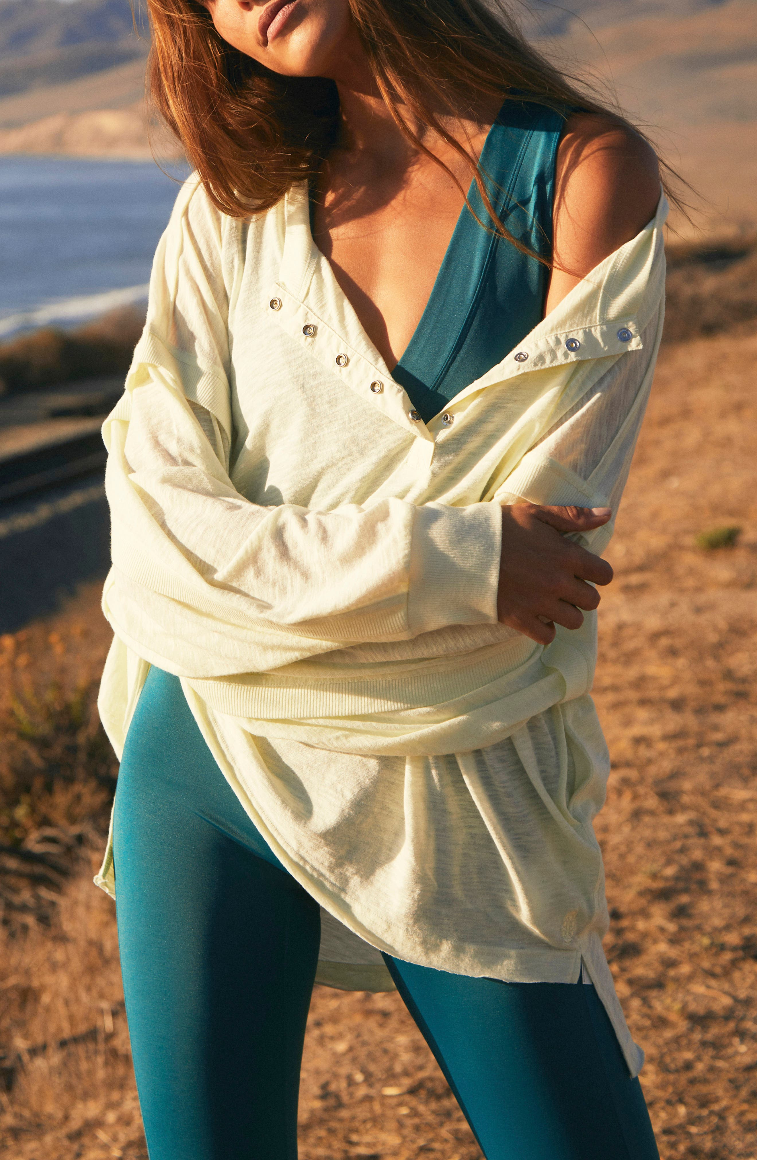 One Up Long Sleeve Top