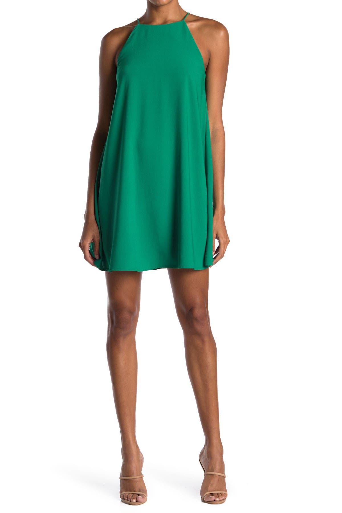 Image of MELLODAY Sleeveless Mini Swing Dress