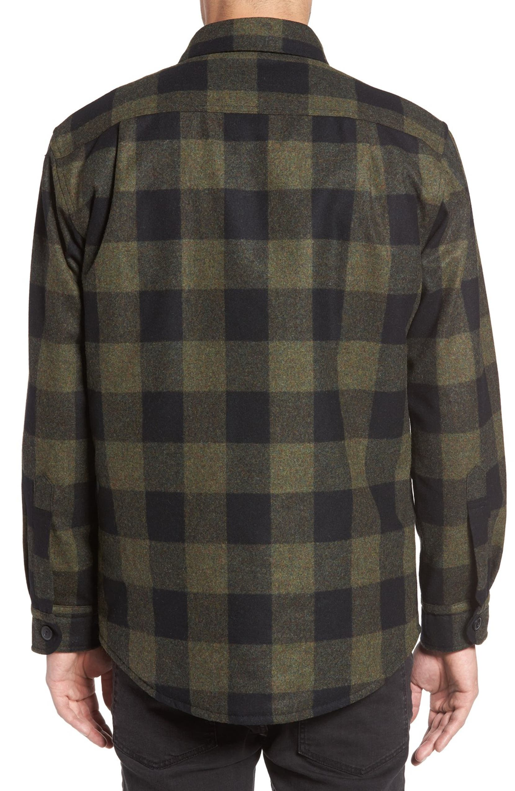 360880fcccadb9 Pendleton Quilt Lined CPO Wool Shirt | Nordstrom
