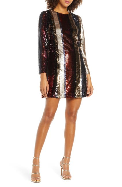 Image of Ali & Jay Members Only Sequin Mini Dress