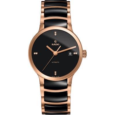 Rado Centrix Automatic Diamond Ceramic Bracelet Watch,