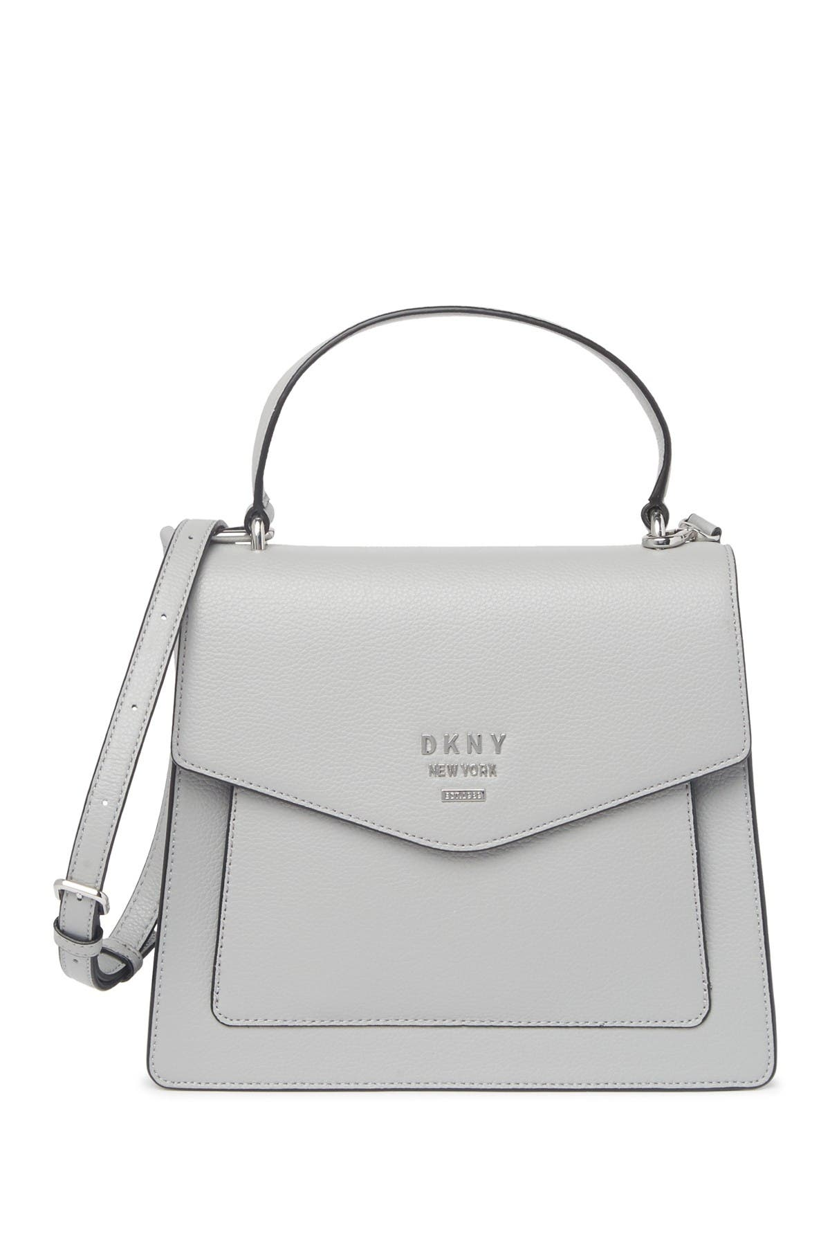 Image of DKNY Whitney Leather Satchel Bag
