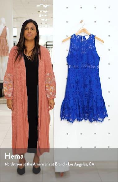 Ellingtone Embroidered Lace Dress, sales video thumbnail