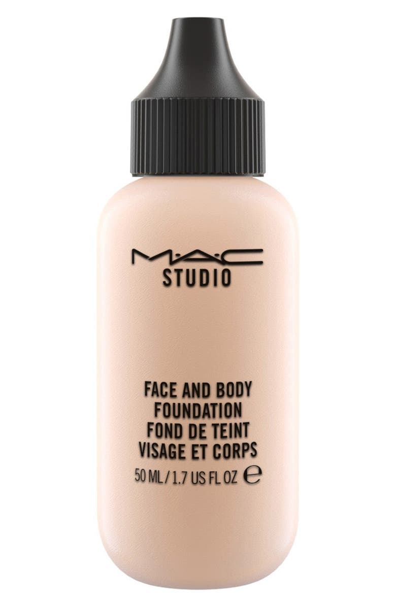 MAC COSMETICS MAC M·A·C Studio Face and Body Foundation, Main, color, N1