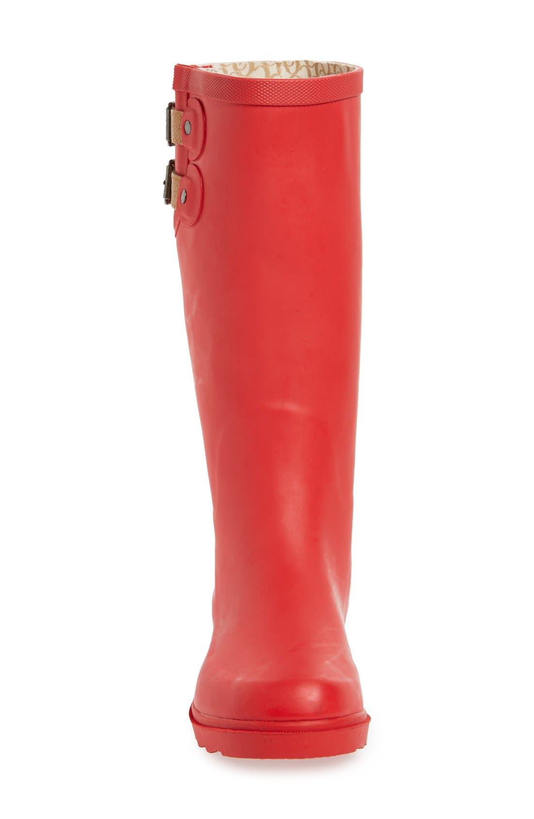 ,                             'Top Solid' Rain Boot,                             Alternate thumbnail 131, color,                             612
