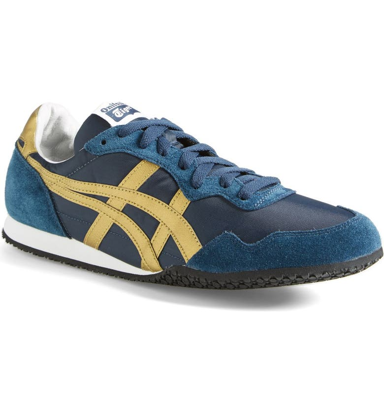ONITSUKA TIGER<SUP>™</SUP> 'Serrano' Sneaker, Main, color, NAVY/ GOLD