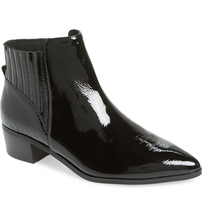 HALOGEN<SUP>®</SUP> Skylar Pointy Toe Bootie, Main, color, 002