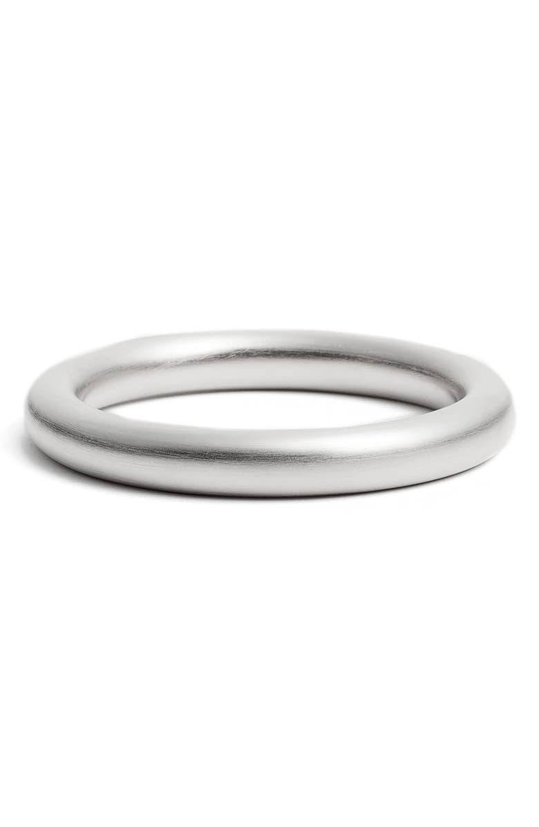 DEAN DAVIDSON Ipanema Tubular Bangle Bracelet, Main, color, SILVER