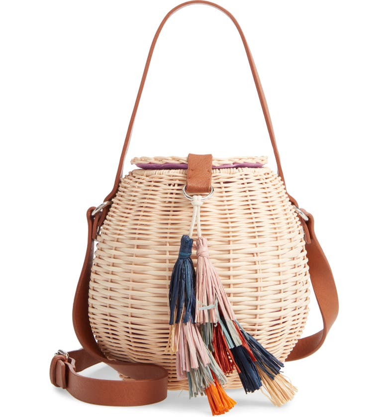 NORDSTROM Honey Pot Basket Crossbody Bag, Main, color, 260