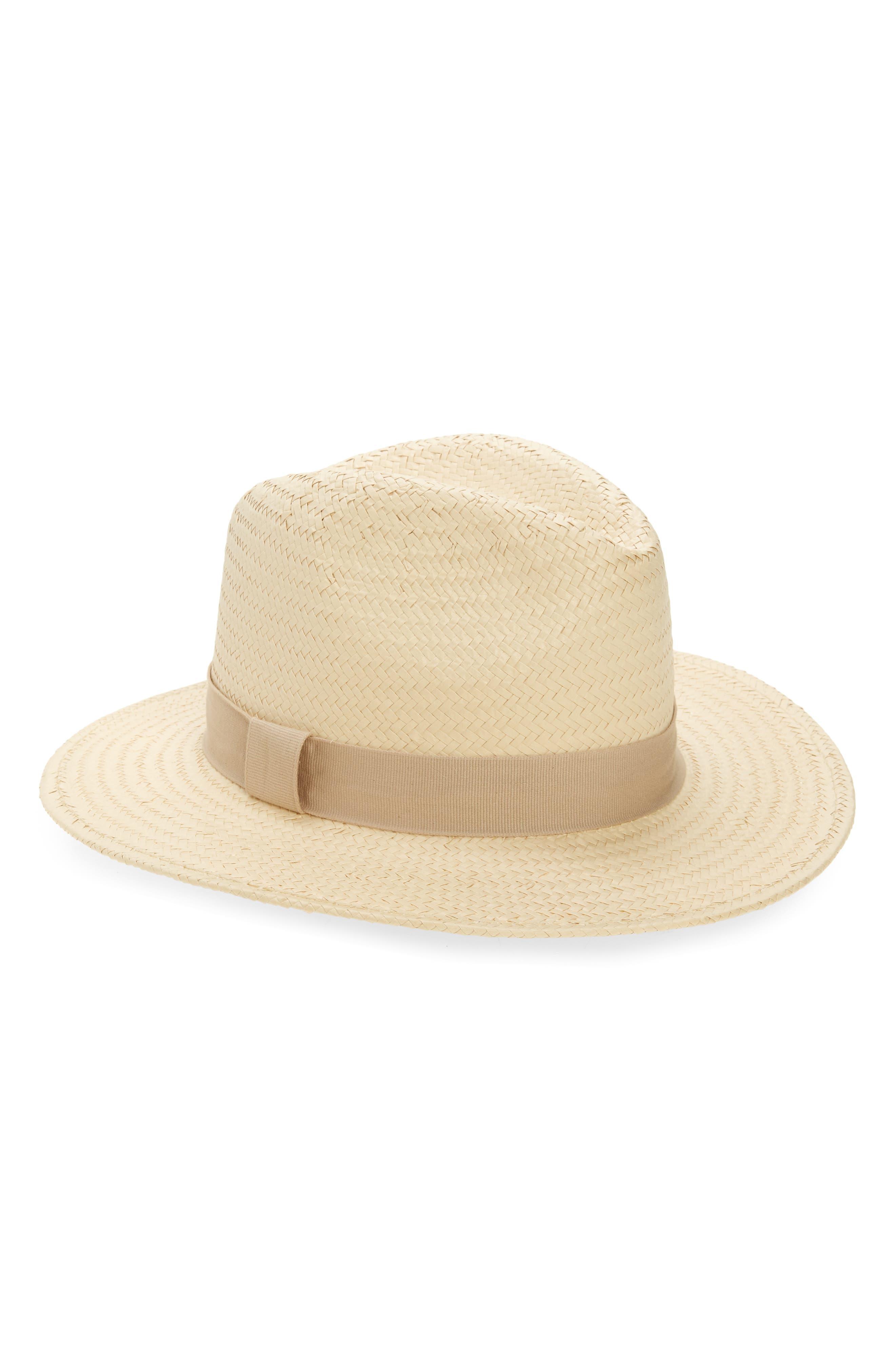 X Biltmore Striped Band Panama Hat