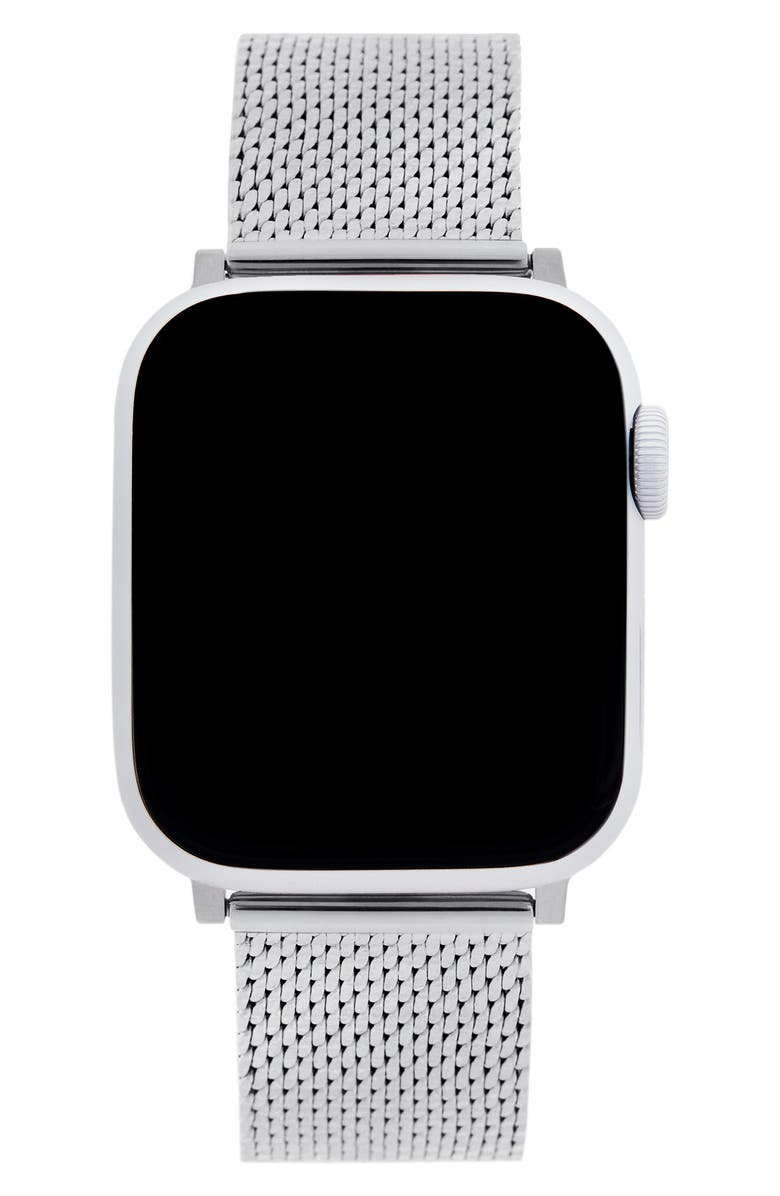 REBECCA MINKOFF Milanese Mesh Apple Watch<sup>®</sup> Bracelet, Main, color, 040