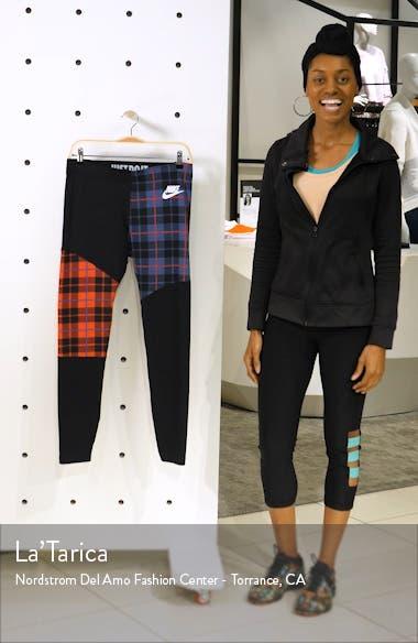Sportswear Plaid Leggings, sales video thumbnail