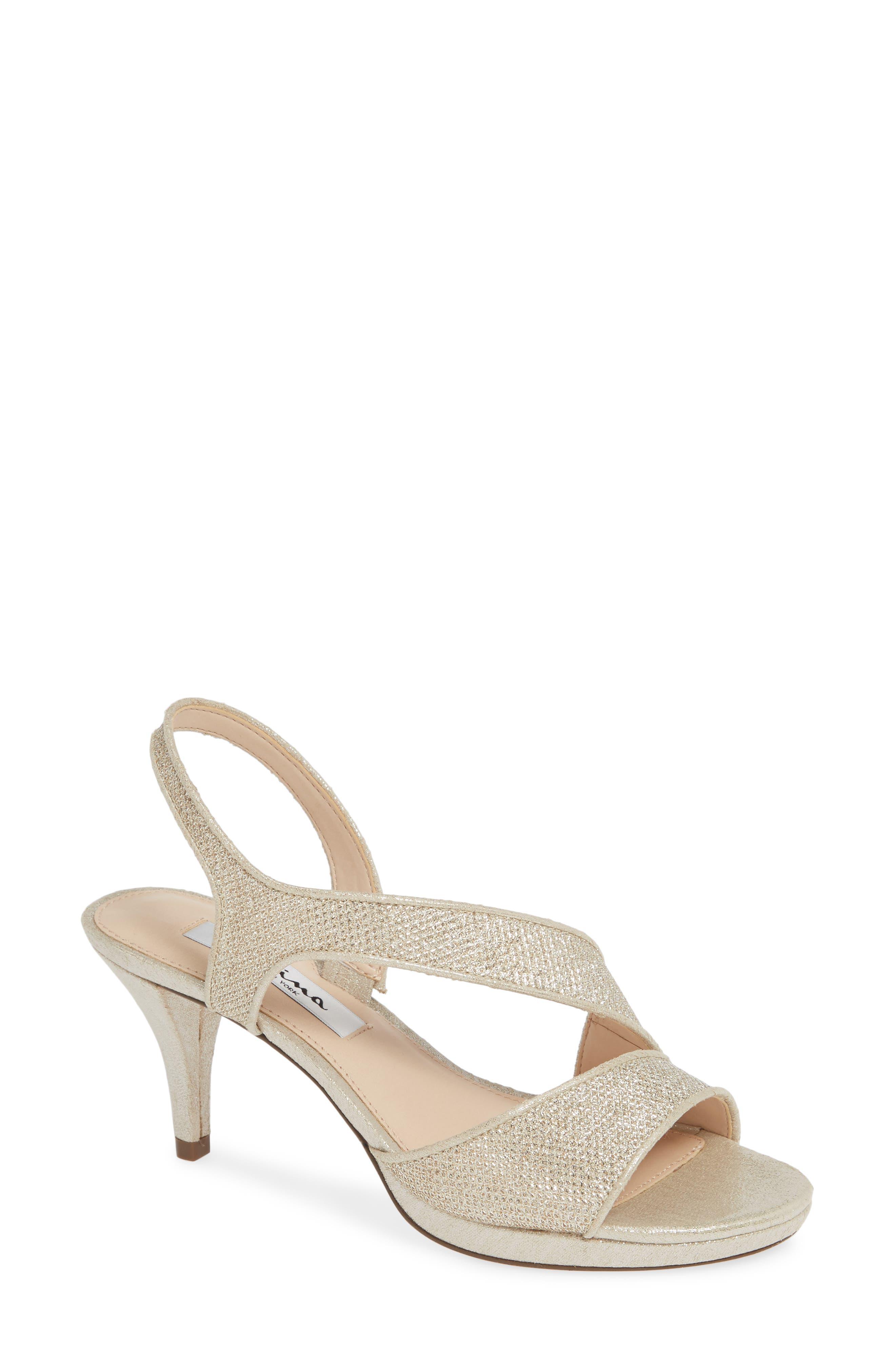 Nina Nasreen Asymmetrical Sandal (Women)