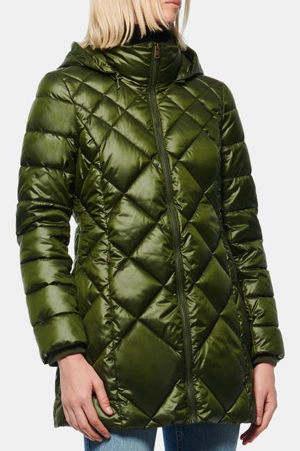 Image of Andrew Marc Claremont Quilted Parka
