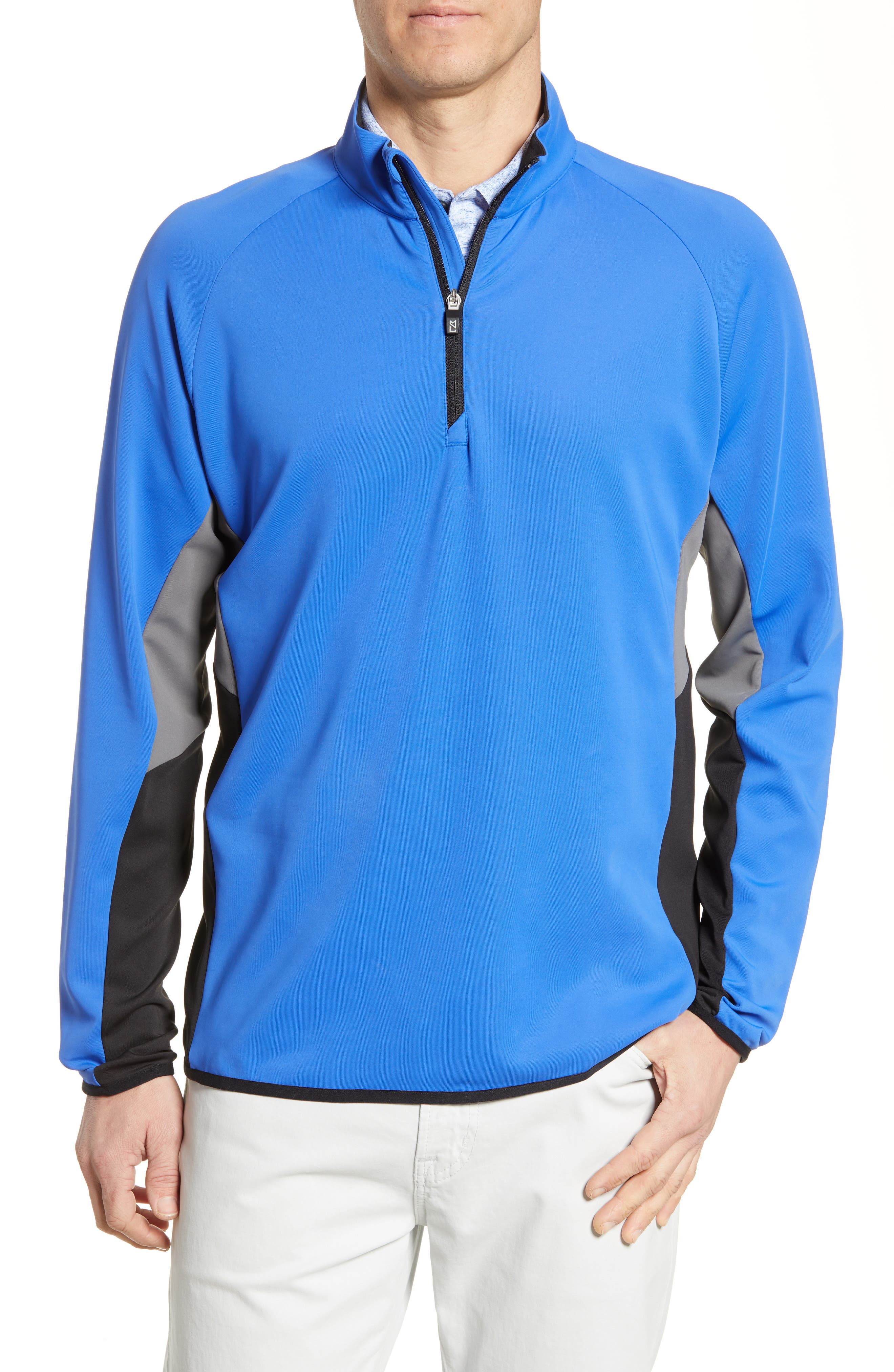 Traverse Colorblock Quarter Zip Pullover