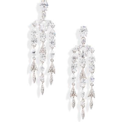 Nadri Chandelier Drop Earrings