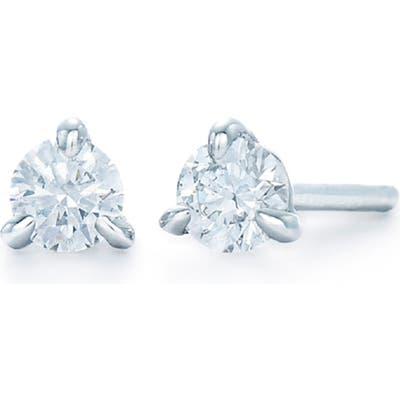 Kwiat 0.25Ct Tw Diamond & Platinum Stud Earrings