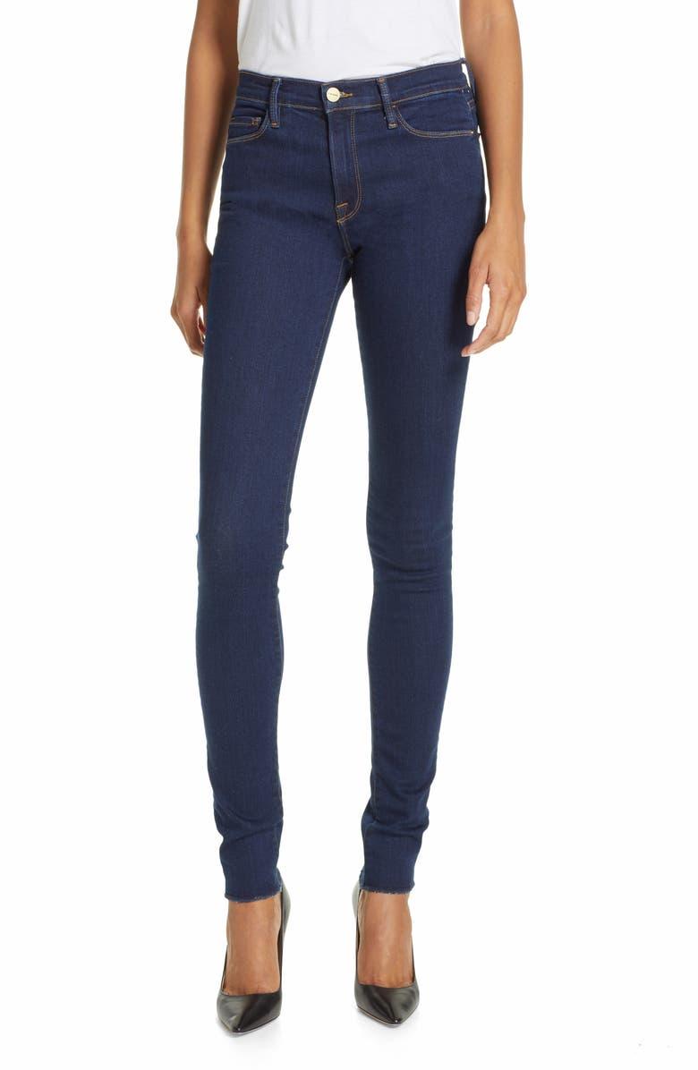 FRAME Forever Karlie Skinny Jeans, Main, color, GROVE STREET