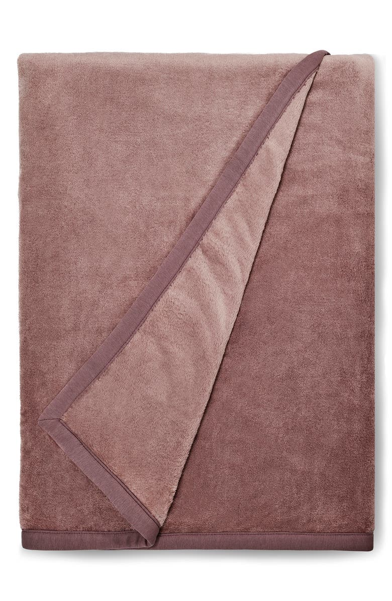 UGG<SUP>®</SUP> Duffield II Throw Blanket, Main, color, STORMY GREY