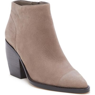 Sole Society Maevel Cap Toe Bootie, Brown