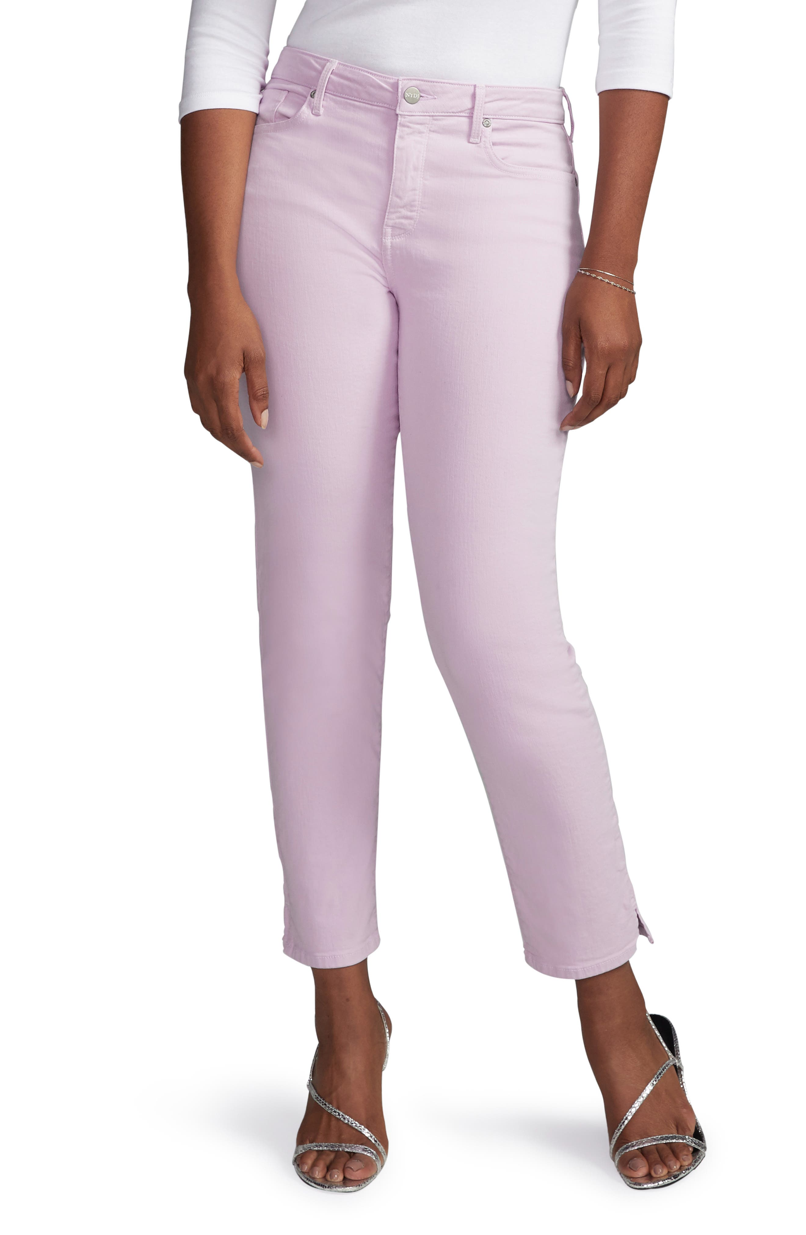 Curves 360 by NYDJ Slim Straight Leg Ankle Jeans (Regular, Petite & Plus Size)