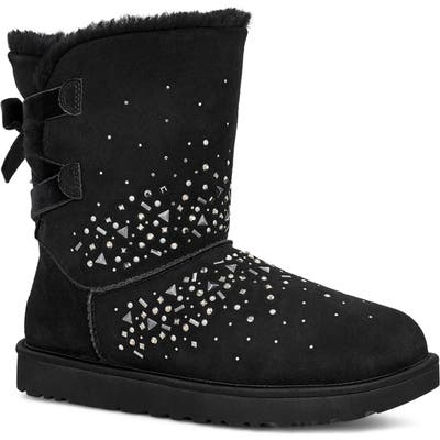 UGG Classic Galaxy Bling Short Boot, Black