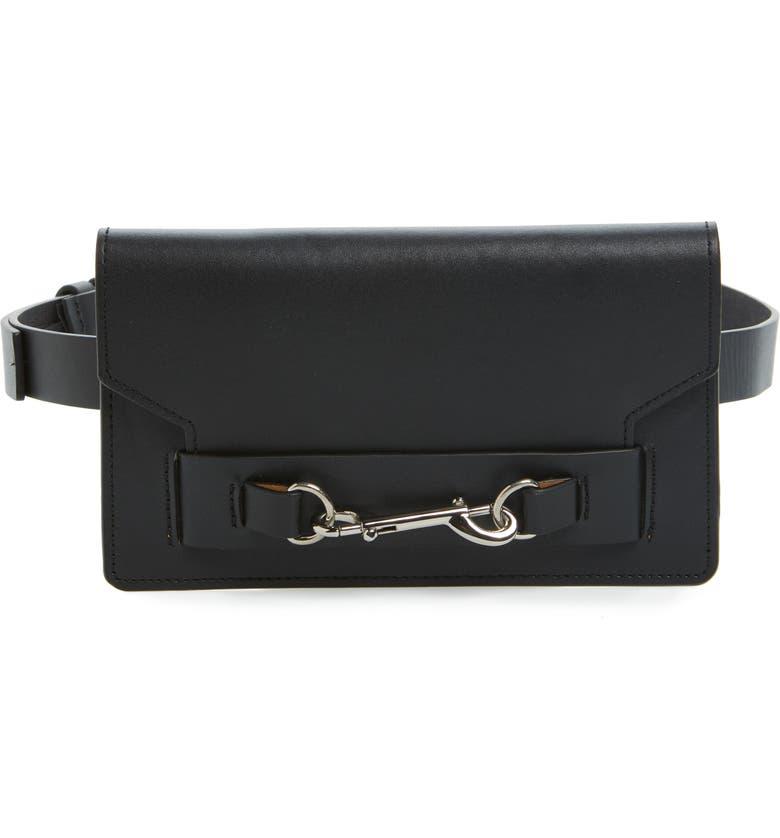 REBECCA MINKOFF Belt Bag, Main, color, 001